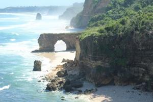 Land above the cliffs BATU BULANG