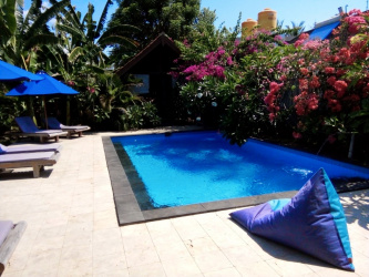 Cozy resort in Gili Trawangan, Lombok, for sale
