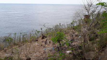 Coral garden view land in Batu Seni - Amed area, Bali, for sale