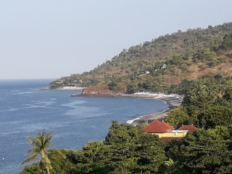 Land for sale in Banyuning Bay, Amed, Bali, hotel license 1500 m2