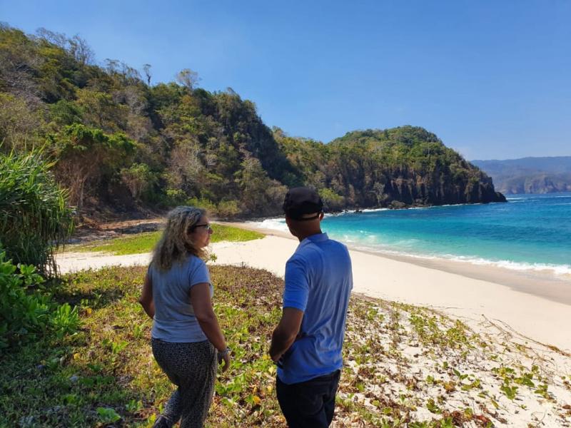 Land for sale on Pantai Maloba, Sumba Island, 7,5 ha