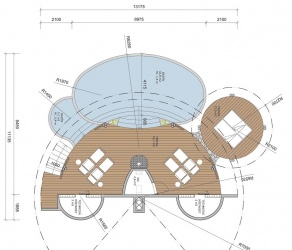 Villas Bukit  Lipah - 1st floor plan