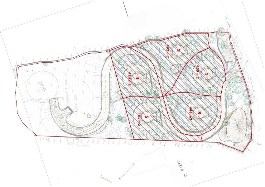 Villas Bukit  Lipah - land size