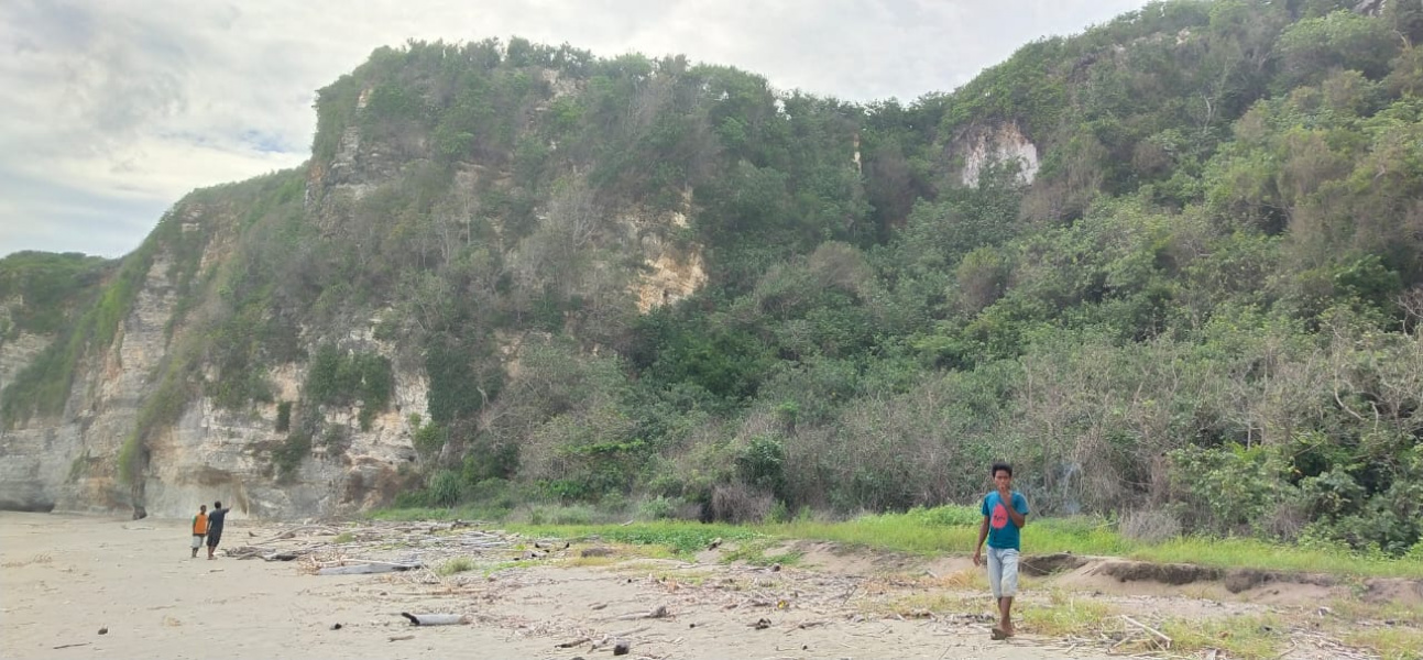 Land for sale on pantai Watu Malandong, West Sumba