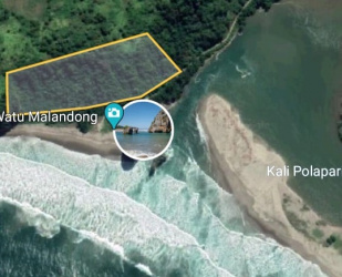 Land for sale on pantai Watu Malandong, West Sumba